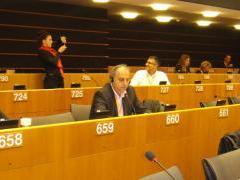 Ο Δήμαρχος Έδεσσας στις Βρυξέλλες