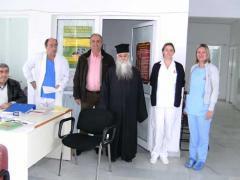 Επίσκεψη Δημάρχου στο Κέντρο Υγείας Άρνισσας